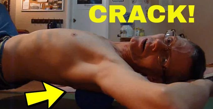 How to Crack Your Own Back. No Chiropractor Required!