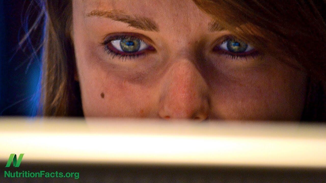 Dietary Treatments for Computer Eye Strain