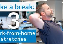 3 Stretches to Loosen Work-From-Home Body Stiffness